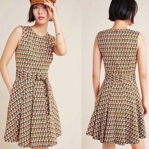 ANTHROPOLOGIE HUTCH Amina Mini Dress Sz M
